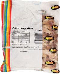 Cola Bottles 1kg - Rainbow Confectionery