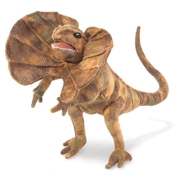 Folkmanis Hand Puppet - Frilled Lizard