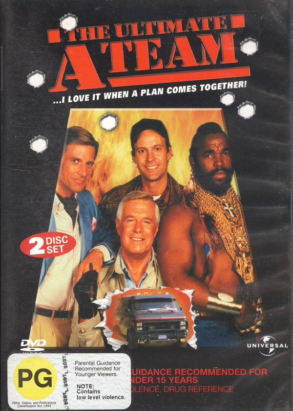 A-Team - The Ultimate Collection Vol. 1 (2 Disc Set) on DVD image