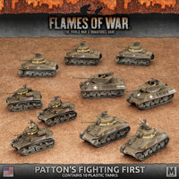Flames of War: Patton's Fighting First - Army Pack