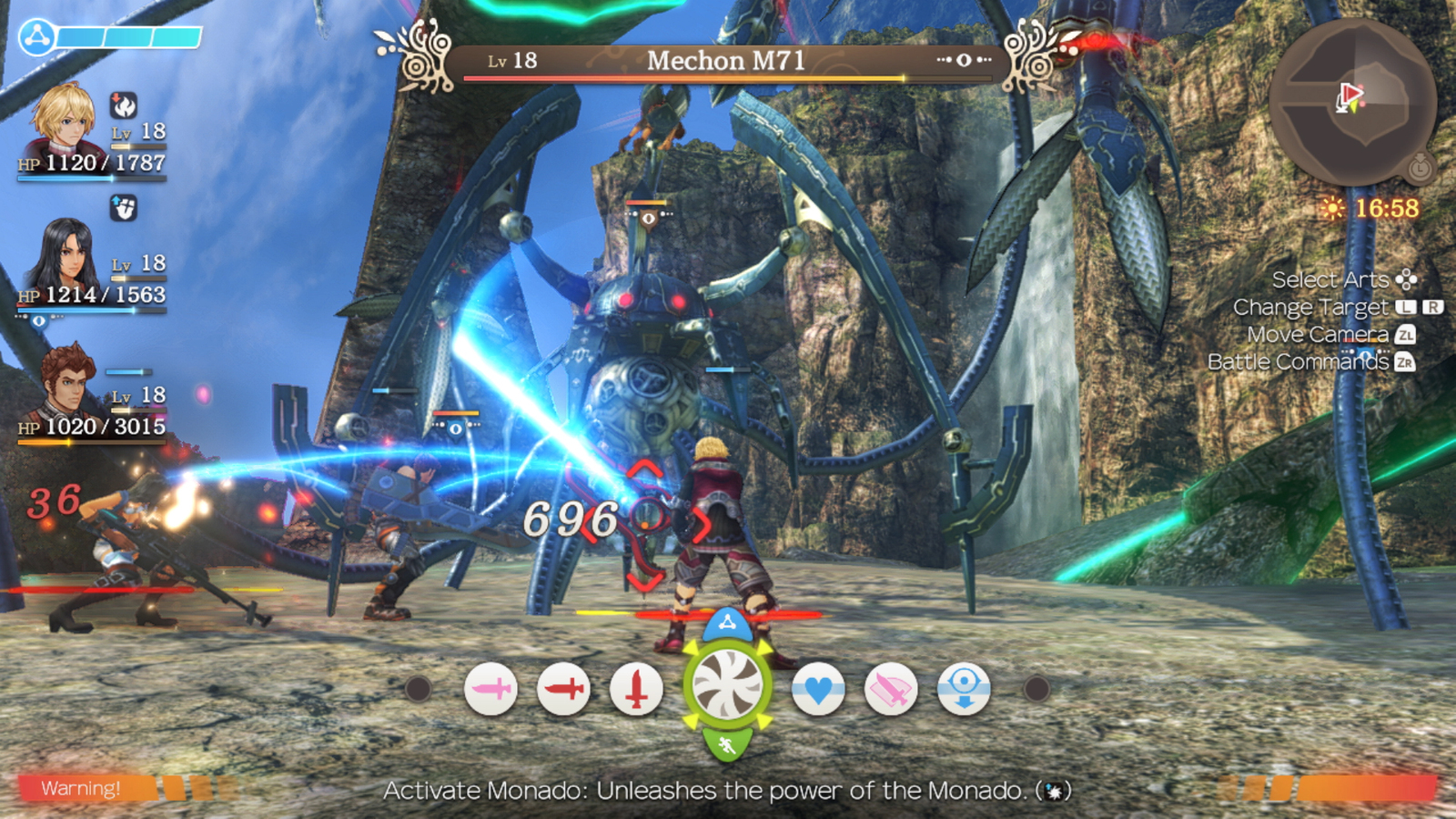 Xenoblade Chronicles Definitive Edition for Switch image