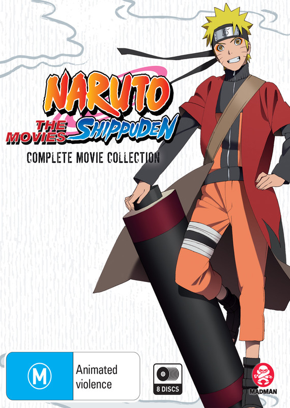 Naruto Shippuden Complete Movie Collection on DVD