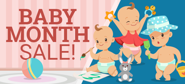Baby Month Sale!
