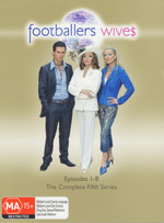 Footballers Wives 5th Series (3 Discs) on DVD