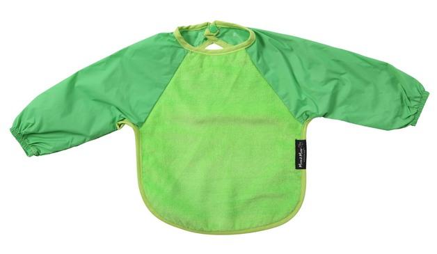 Mum 2 Mum Sleeved Wonder Bib (6-18 Months) - Lime