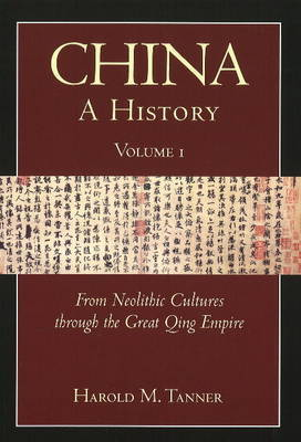 China: A History (Volume 1) by Harold M. Tanner image
