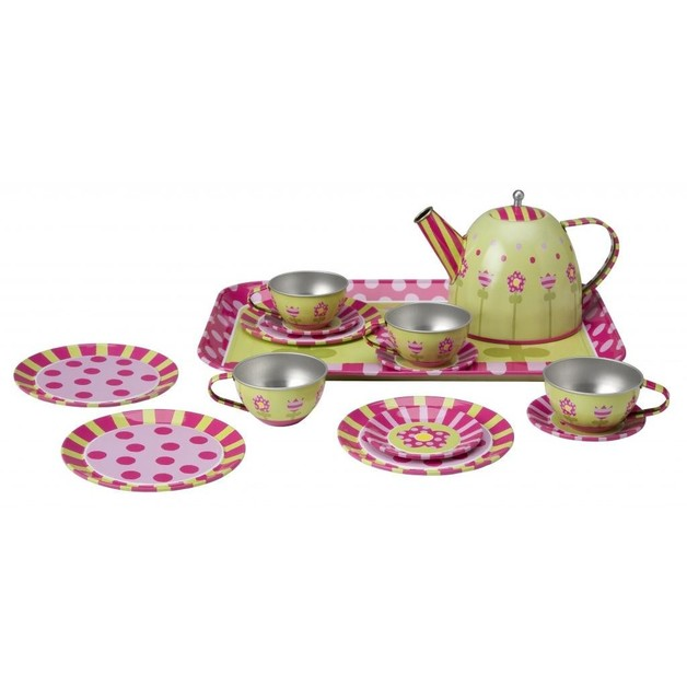 Alex: Tin Tea Set