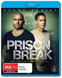 Prison Break Event Series on Blu-ray