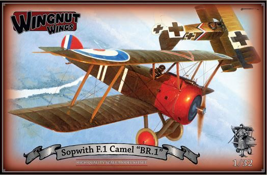 "Wingnut Wings 1/32 Sopwith F.1 Camel ""BR.1"" Model Kit"