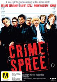 Crime Spree on DVD image