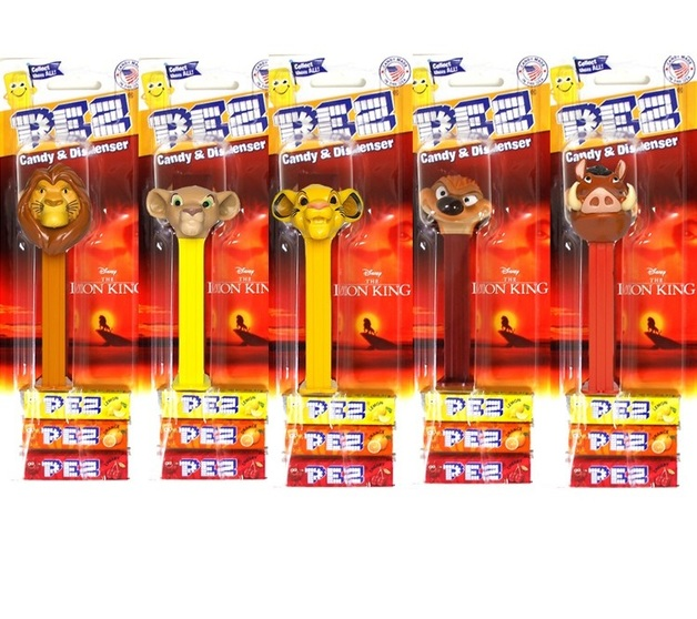 PEZ: The Lion King - Assorted (25g)