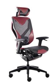 GT VIDA V7 Ergonomic Gaming & Office Chair - Black & Red for