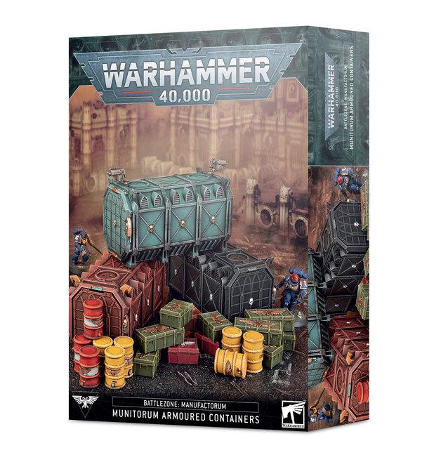 Warhammer 40,000: Battlezone Manufactorum Munitorum Armoured Containers