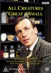 All Creatures Great & Small - Season 2 - Vol 1 (3 Disc Set) on DVD