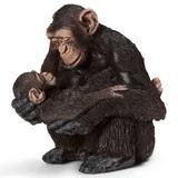 Schleich: Chimpanzee Female with Baby