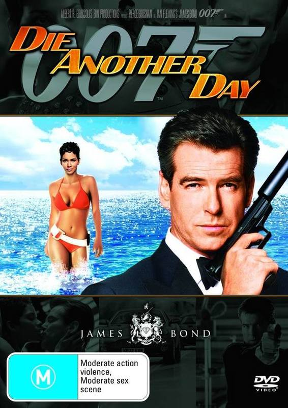 James Bond - Die Another Day on DVD