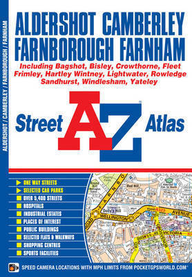 Aldershot Street Atlas by Geographers A-Z Map Company