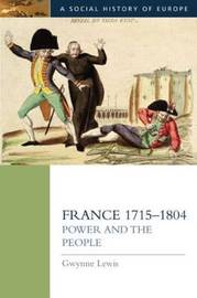 France 1715-1804 by Gwynne Lewis image