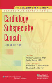 The Washington Manual Cardiology Subspecialty Consult image