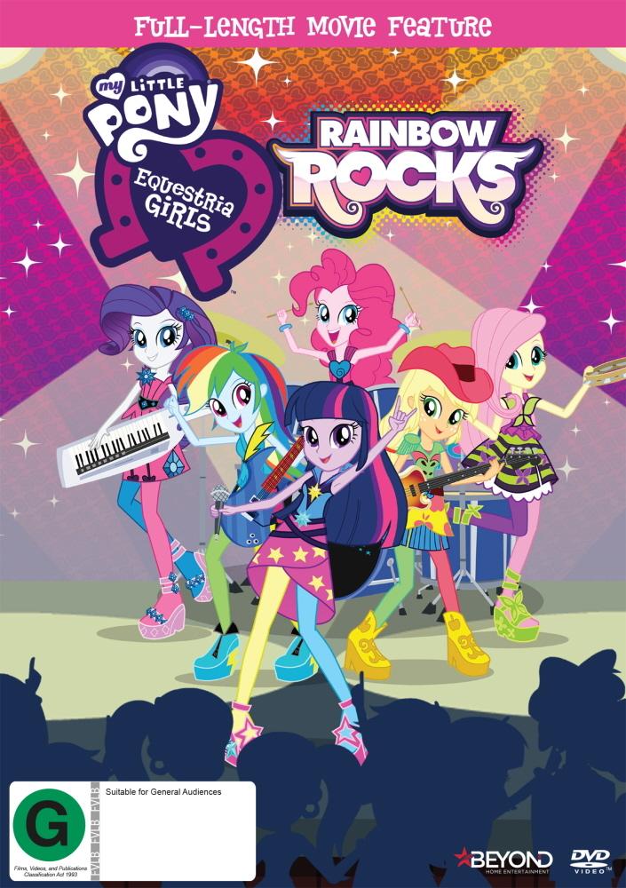 My Little Pony Equestria Girls: Rainbow Rocks on DVD image