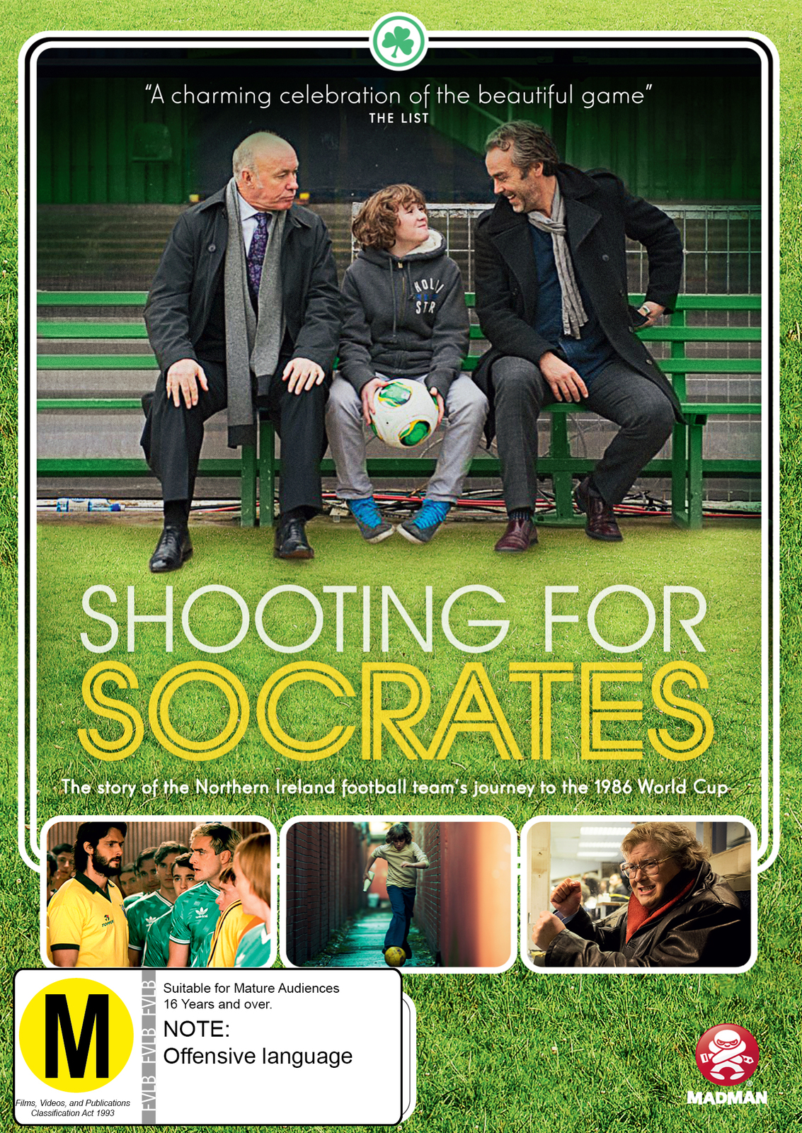 Shooting For Socrates on DVD image