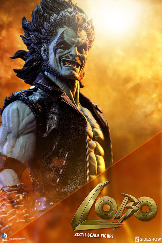 DC Comics: Lobo - 12'' Articulated Figure