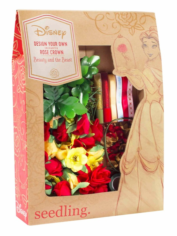 Seedling Your Own Enchanted Rose Crown Diy Kit Toy At Mighty