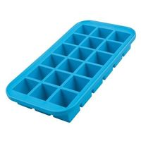 Silicone 18 Cube Medium Ice Tray - Blue