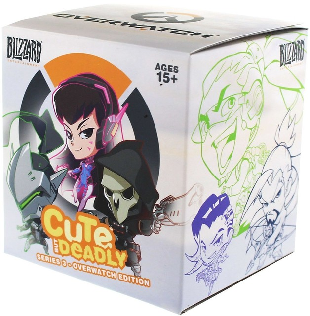 Blizzard: Cute But Deadly Series #3 Deluxe Vinyl Figure (Blind Box)