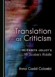 Translation as Criticism