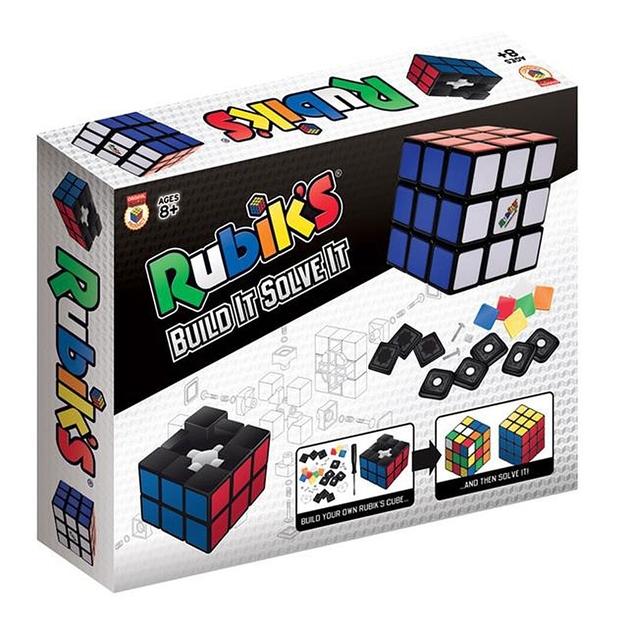 Rubik's: Build It Solve It - Logic Puzzle