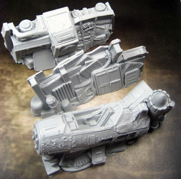 Secret Weapon Terrain: Scrap Yard - Junk Walls