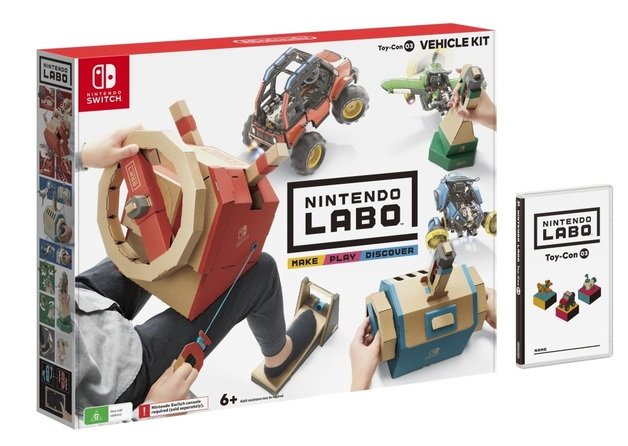 Nintendo Labo Toy-Con 03 Vehicle Kit for Switch