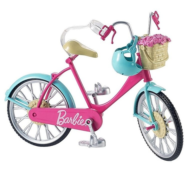 Barbie: Pink Bike - Doll Vehicle