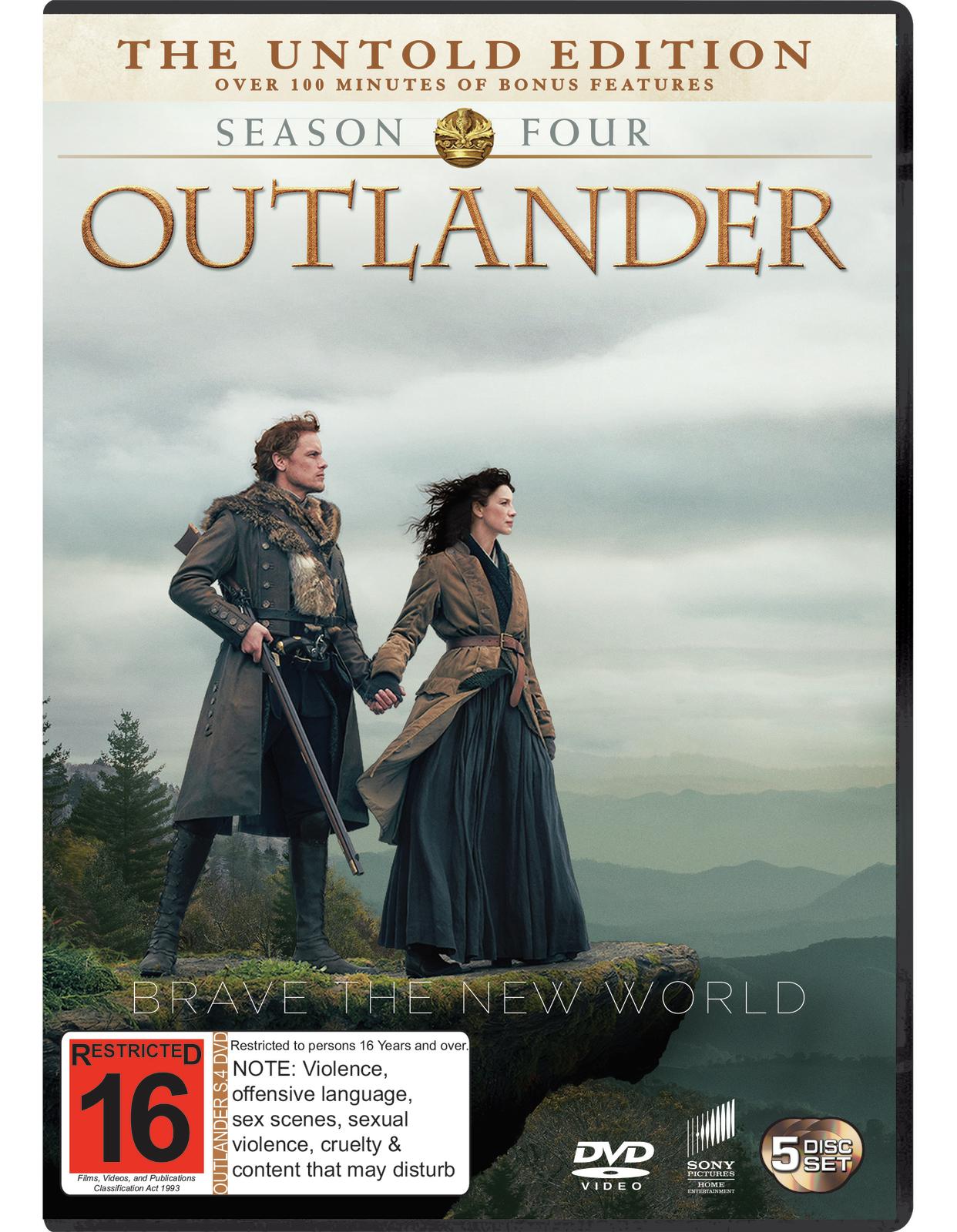 Outlander Season 4 on DVD image