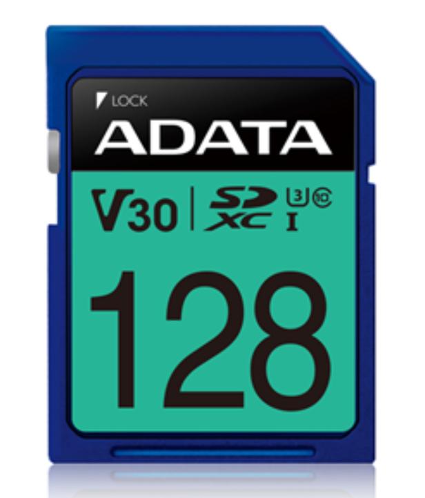 ADATA Premier Pro UHS-I U3 V30 SDXC Card - 128GB