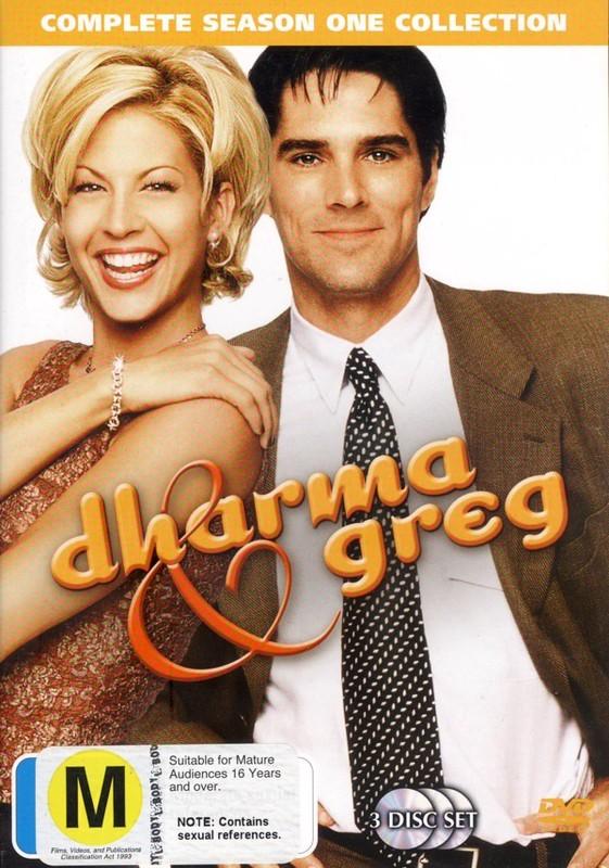 Dharma and Greg - Season 1 (3 Disc Set) on DVD