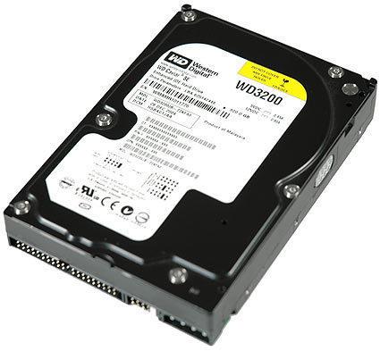 Western Digital WD 320GB SPECIAL EDITION 7200RPM 8MB UATA100