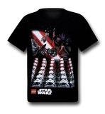 Star Wars Lego Dark Legion Kids T-Shirt (Size 4)