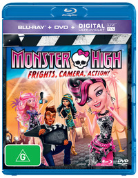 Monster High - Frights, Camera, Action! on DVD