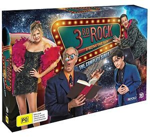 3rd Rock From The Sun Complete Series Collection (Limited Release) (19 Disc Set) on DVD image