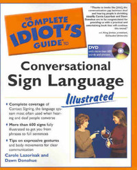 Conversational Sign Language Illustrated (American - Book + DVD) by Carol Lazorisak