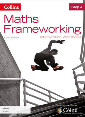 KS3 Maths Intervention Step 4 Workbook by Chris Pearce image