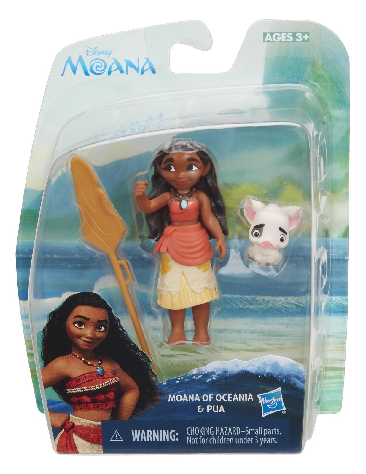 Disney's Moana: Young Moana Of Oceania & Pua- Small Doll Set image