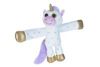 Huggers: Polka Dot Unicorn - 8 Inch Plush