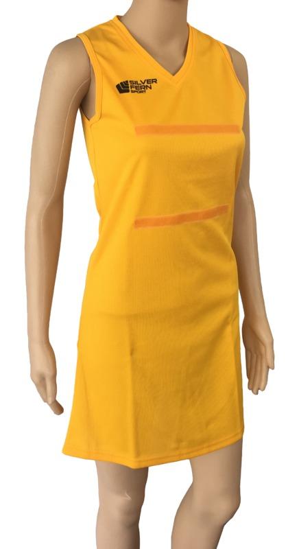 Silver Fern: Netball Dress - 3XL (Gold)
