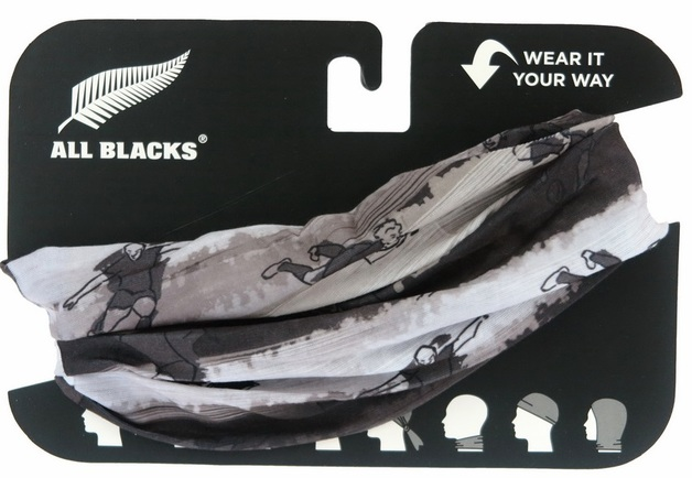 All Blacks: Bandana - Grey