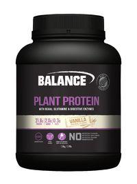 Balance Plant Protein - Vanilla (1.8kg) image