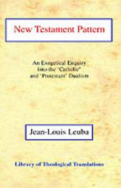New Testament Pattern by Jean-Louis Leuba image