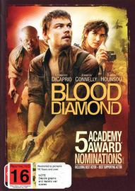 Blood Diamond on DVD